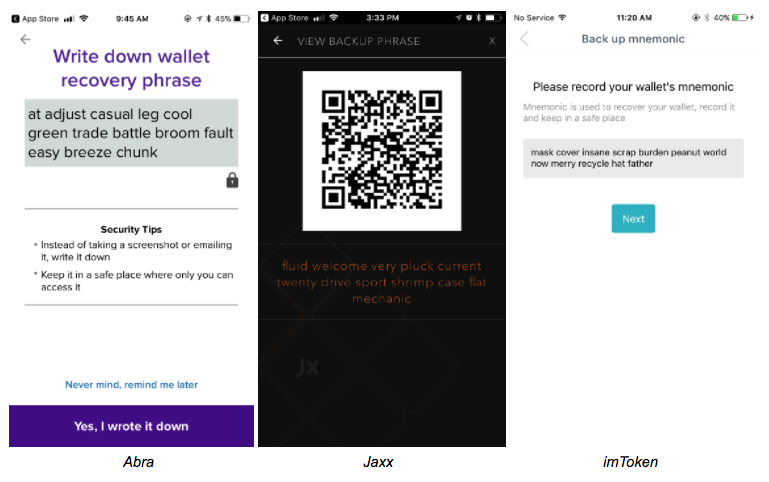 Crypto Wallet Seed Phrase