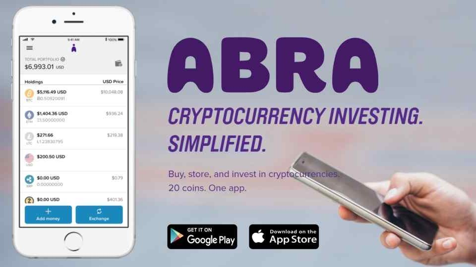 Abra, Buy Stocks/ETFs, Crypto or Fiat