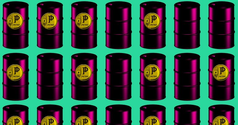 Oil backed cryptocurrency