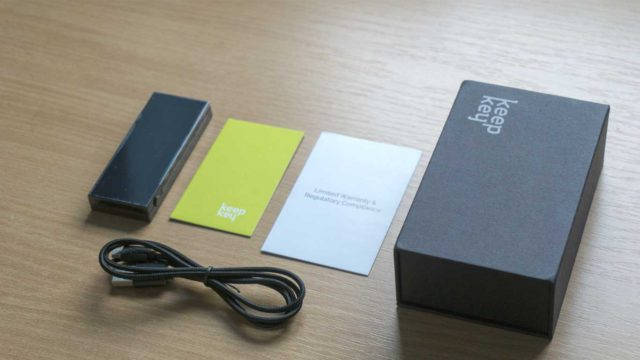 KeepKey Unboxing Box Contents