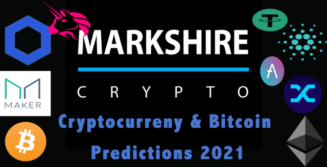 Markshire Cryptocurreny Predictions 2021. Read about Bitcoin, Ethereum, DeFi, stable coins, XRP and more